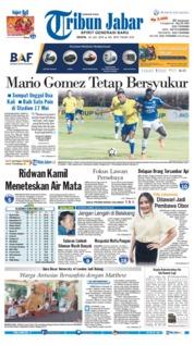 Cover Tribun Jabar 23 Juli 2018