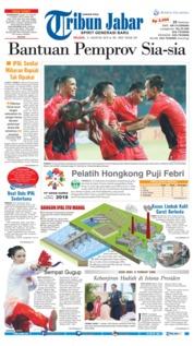 Cover Tribun Jabar 21 Agustus 2018