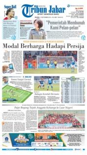 Cover Tribun Jabar 18 September 2018