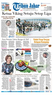 Cover Tribun Jabar 26 September 2018