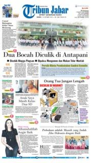 Cover Tribun Jabar 18 Oktober 2018