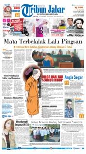 Cover Tribun Jabar 23 Oktober 2018