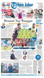 Cover Tribun Jabar 24 Oktober 2018