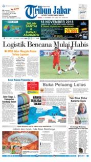 Cover Tribun Jabar 14 November 2018