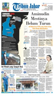 Cover Tribun Jabar 20 November 2018