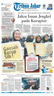 Cover Tribun Jabar 10 Desember 2018