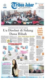 Cover Tribun Jabar 11 Desember 2018