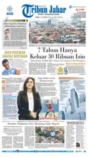 Cover Tribun Jabar 17 Desember 2018