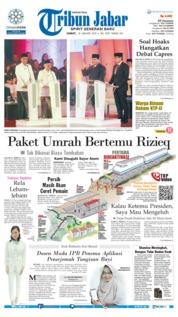 Cover Tribun Jabar 18 Januari 2019