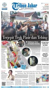 Cover Tribun Jabar 20 Januari 2019