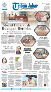 Cover Tribun Jabar 21 Januari 2019