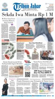 Cover Tribun Jabar 22 Januari 2019