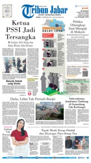 Cover Tribun Jabar 16 Februari 2019