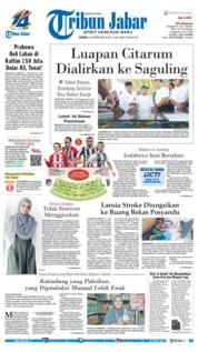Cover Tribun Jabar 20 Februari 2019