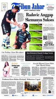 Cover Tribun Jabar 13 Maret 2019