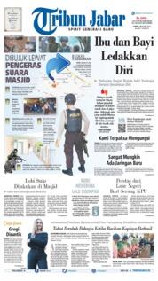 Cover Tribun Jabar 14 Maret 2019