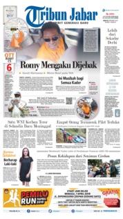 Cover Tribun Jabar 17 Maret 2019