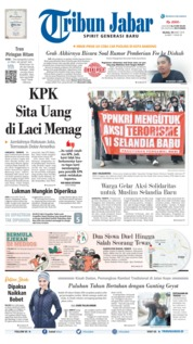 Tribun Jabar Cover 19 March 2019
