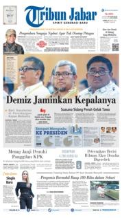 Cover Tribun Jabar 21 Maret 2019