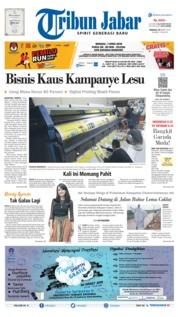Tribun Jabar Cover 24 March 2019