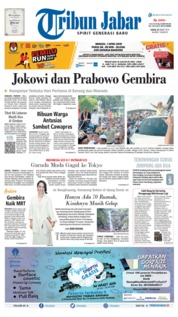 Tribun Jabar Cover 25 March 2019