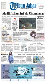 Tribun Jabar Cover 26 March 2019