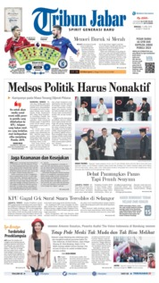 Cover Tribun Jabar 14 April 2019