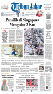 Tribun Jabar Cover 15 April 2019