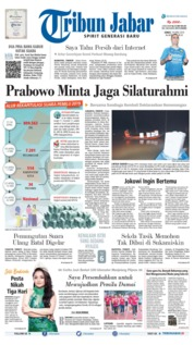 Cover Tribun Jabar 19 April 2019