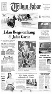 Cover Tribun Jabar 13 Mei 2019