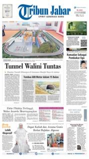 Cover Tribun Jabar 15 Mei 2019