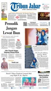 Cover Tribun Jabar 16 Mei 2019