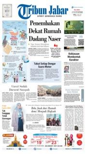 Cover Tribun Jabar 17 Mei 2019
