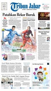Cover Tribun Jabar 18 Mei 2019