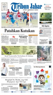 Tribun Jabar Cover 19 May 2019