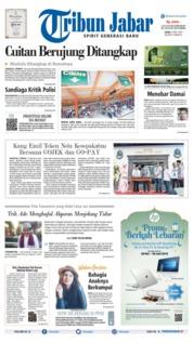 Cover Tribun Jabar 27 Mei 2019