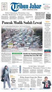 Cover Tribun Jabar 09 Juni 2019