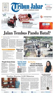 Cover Tribun Jabar 10 Juni 2019