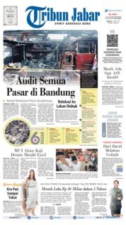 Cover Tribun Jabar 11 Juni 2019