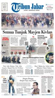Cover Tribun Jabar 12 Juni 2019