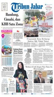 Cover Tribun Jabar 15 Juni 2019