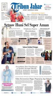Cover Tribun Jabar 16 Juni 2019
