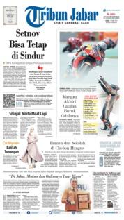 Cover Tribun Jabar 17 Juni 2019