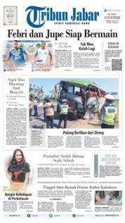 Tribun Jabar Cover 18 June 2019
