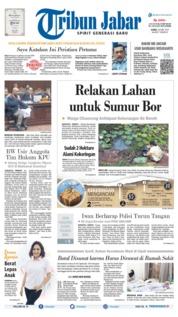 Cover Tribun Jabar 20 Juni 2019