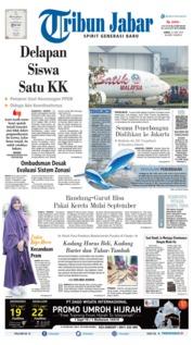 Tribun Jabar Cover 21 June 2019