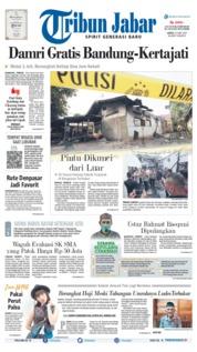 Tribun Jabar Cover 22 June 2019