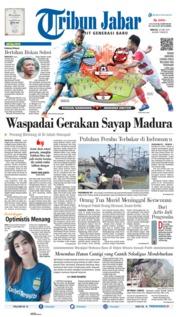 Tribun Jabar Cover 23 June 2019