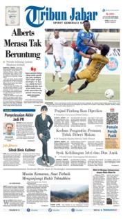 Cover Tribun Jabar 24 Juni 2019