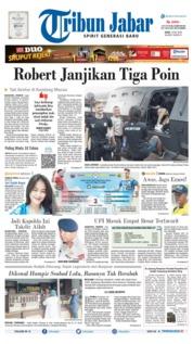 Tribun Jabar Cover 10 July 2019